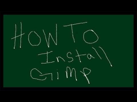 How to install Gimp 2.8.14 using the torrent download