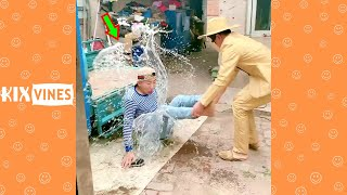 Funny videos 2021 ✦ Funny pranks try not to laugh challenge P190