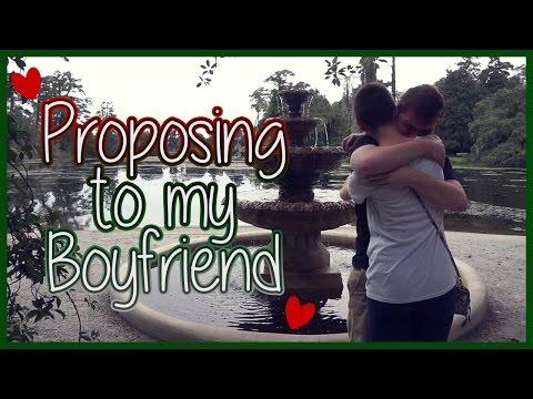 Proposing to my Boyfriend... ♥ | ChandlerNWilson