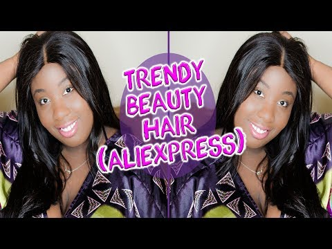 Trendy Beauty (Aliexpress) Brazilian Straight Hair Review