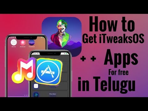 How to Get iTweakOS (BEST MUSIC APP & NEW ++ Tweaks) for iPhone, iPad, iPod Touch in Telugu.