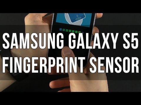 Samsung Galaxy S5 - fingerprint sensor / scanner explained