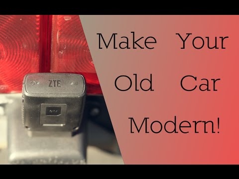 Make Your Old Car Modern!