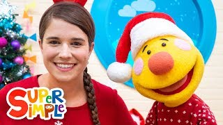 S-a-n-t-a   Sing Along With Tobee   Kids Christmas Song