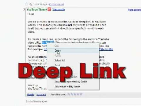 What is a Deep Link.