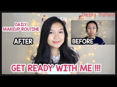 GET READY WITH ME !! || Daily Makeup Routine For Teens