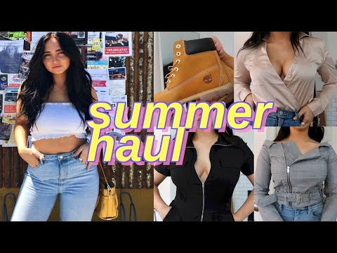 summer try on haul   urban outfitters and fashion nova