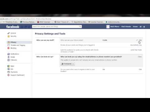 How to Make My Facebook Profile Visible to Non-Friends : Tech Vice