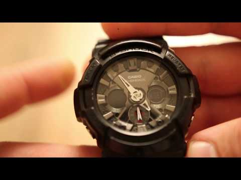 How to sync the analog and digital time on CASIO G-SHOCK 5229