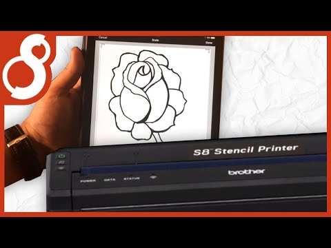 S8 Stencil Printer - AirPrint Setup with Apple iOS How To