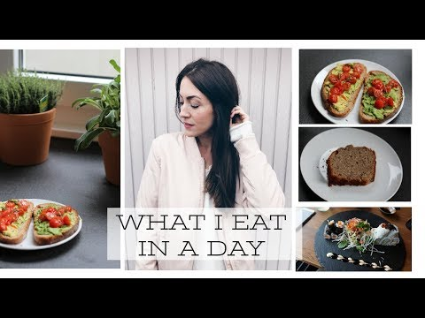 WHAT I EAT IN A DAY //2018 #2 (VEGAN ABWANDELBAR)
