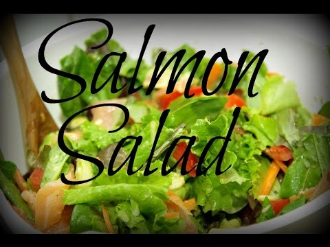 Summer Salad with Smoked Salmon