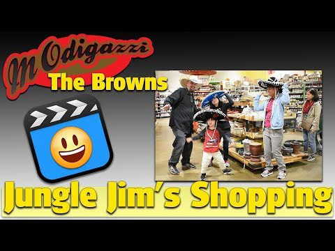 Modigazzi goes to Jungle Jim's International, Scratch and Dent, Ethnic food and Beanboozled