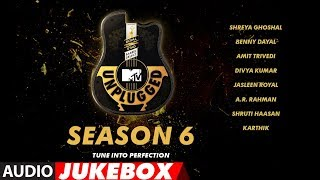 MTV Unplugged Season 6 | Audio Jukebox | Bollywood Songs | T-Series