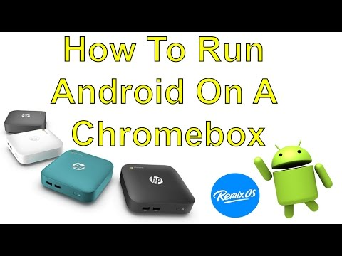 HowTo Run Android On A ChromeBox Remix Os Hp Chrome Box