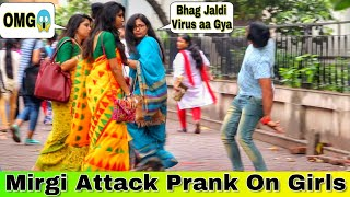 Mirgi Attaçk Prank on Cute Girl's 😳😱 - Pranks In India  Epic Reactions  By TCI