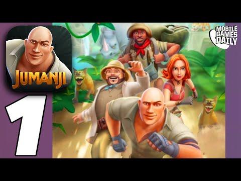 JUMANJI Epic Run Gameplay Walkthrough Part 1 - The Jungle (iOS Android)