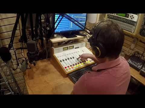My Home Radio Station Studio Summary w/ Mic Comparison