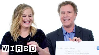 will ferrell amy poehler answer the webs most searched questions wired
