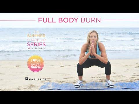 Full Body Burn HIIT Workout | Summer Shape up Series