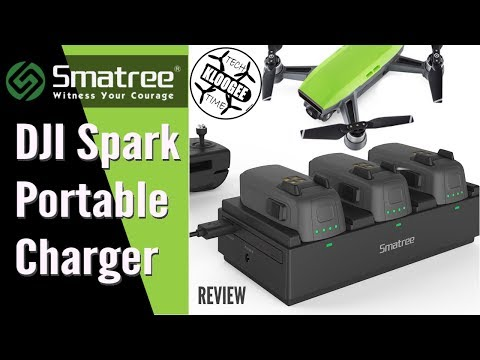 DJI Spark - Smatree Portable Charger Review