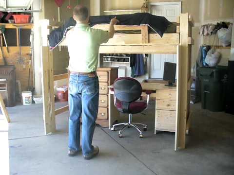 Easy Living Loft Bed Demo