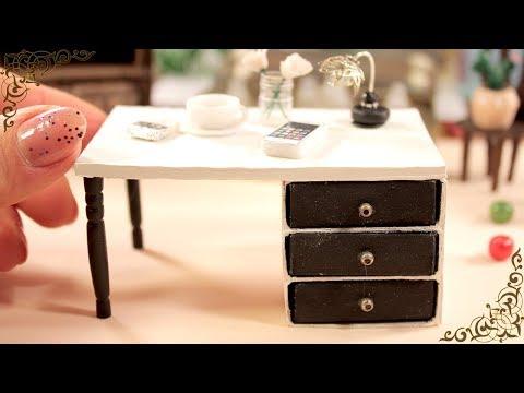 Miniature Table || Matchbox Craft || DIY