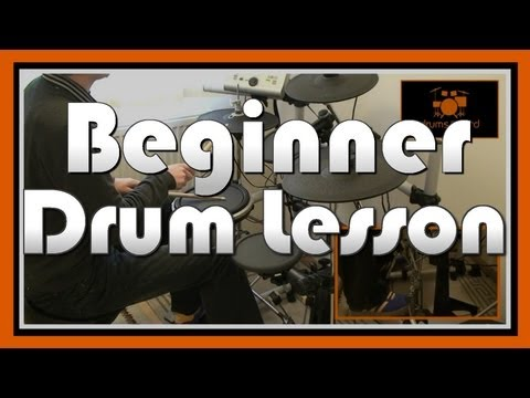 ★ How To Play Drums (1) ★ Beginner Drum Lesson | Free Video Drum Lesson