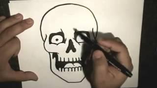 В данном видео показывается как нарисовать скелета фломастером ПОМОЩЬ *QIWI 79879786410 заранее спасибо!