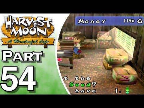 Harvest Moon: A Wonderful Life Part 54: The Crops are Here
