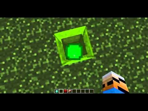 Minecraft:one command-GreenLantern