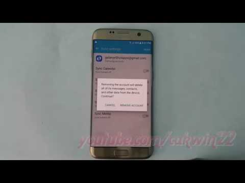 Samsung Galaxy S7 Edge : How to Remove Samsung Account (Android Marshmallow)