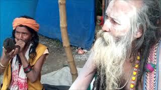 Naga Sadhu At Babughat Way To Ganga Sagar