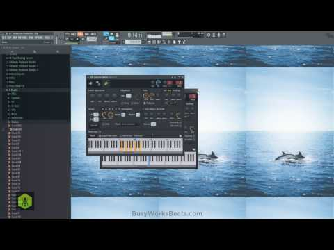 Soulection FL Studio 12 Tutorial   Basslines, Remixing, and Chords