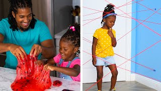 Entertain your kids and get creative with things from around your house! Blossom