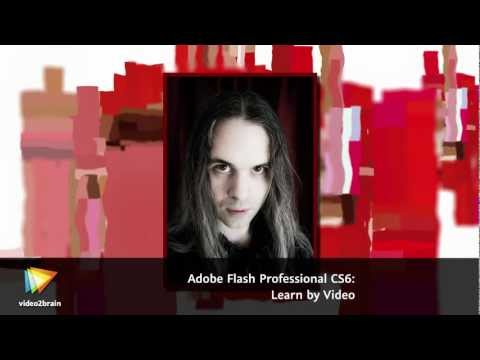 Adobe Flash Professional CS6: Learn by Video Trailer