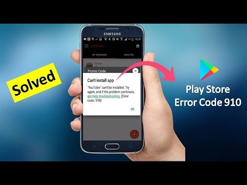 How to Fix Google Play Store Error 910 in Android 2019