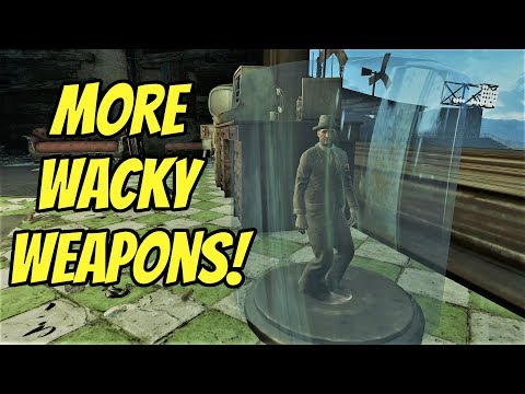More Wacky Weapons: The Beverageer's Stash   Fallout 4  