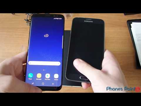 Samsung Galaxy S8 Quick unboxing
