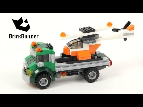 Lego Creator 31043 Chopper Transporter - Lego Speed Build