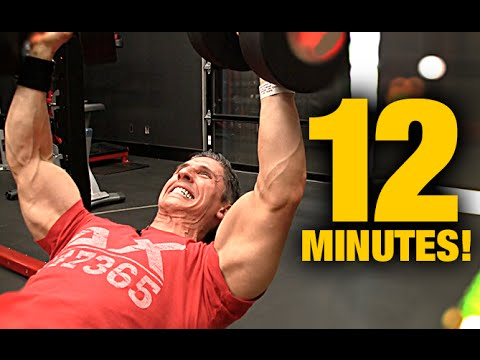 12 Minute Workout for Muscle Mass (HIT EVERY MUSCLE!!)