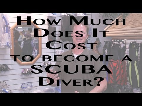How Much Does It Cost To Become a SCUBA Diver