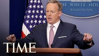 Donald Trump's First Press Briefing Was A Big Change | TIME