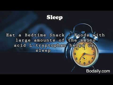 sleep Drink Warm Milk, Take a Warm Bath,Eat a Bedtime Snack