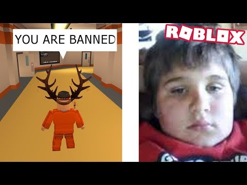 Raging kid in Roblox threatens to ban players if they dont...