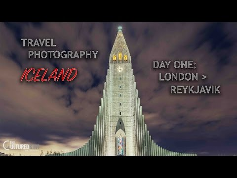 Travel Photography: Day One - London to Reykjavik