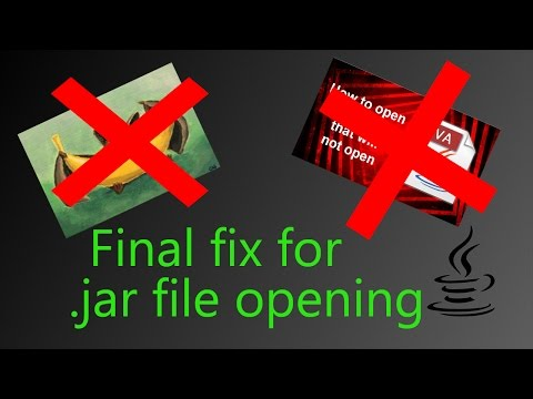 Final fix for opening .jar files on Windows 10