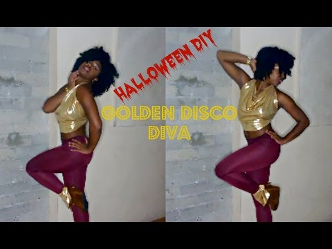 DIY Halloween Costume | Disco Diva