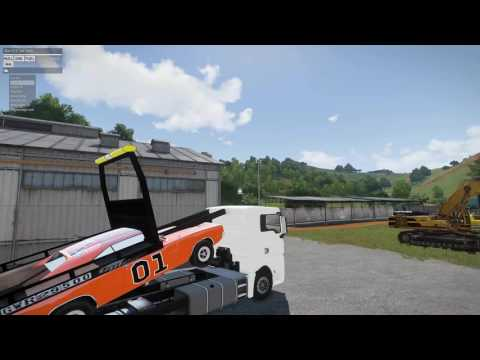 Arma 3 Towing Fail 1969 General lee dodge charger