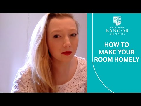 How to make your university room homely